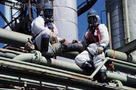 workers near asbestos hazard